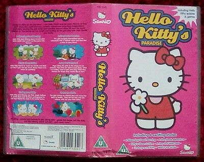 e840f448fd9f HELLO KITTY S PARADISE Vhs Video - £2.50