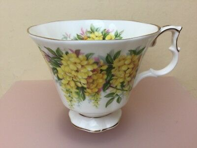 Royal Albert Blossom Time Laburnum Replacement Tea Cup Only Superb Condition
