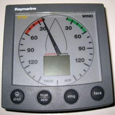 Raymarine  St60 Wind Display , No Sun Cover ,,tested !!!!!