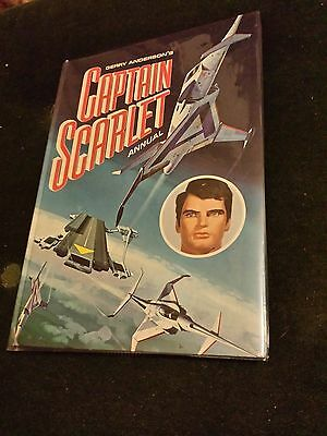 Captain Scarlet Annual 1967- T/Birds - Mint