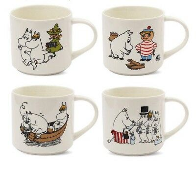 Moomin Mug Cartoon Characters Ceramic Coffee Cups Family Drinking Travel Gifts 27 19 Picclick