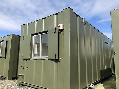 24ft x 8ft  Anti Vandal Canteen Site Office/Portable Building/Canteen Container