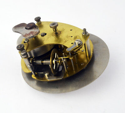 Vintage Smiths 8 Day clock movement with winding key - Parts & Spares