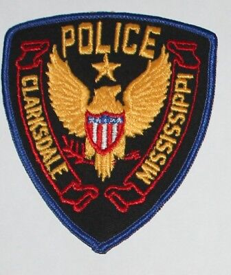 CLARKSDALE POLICE Mississippi PS PD patch