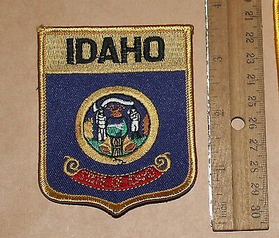 IDAHO STATE SEAL patch ID