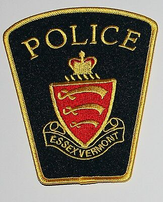 ESSEX POLICE Vermont VT PD patch