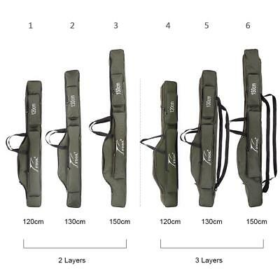 Portable Rod Bag Folding Fishing Carrier Storage Case Bags For Carp Canvas Gift