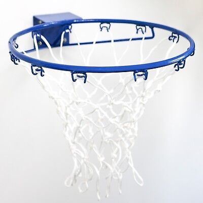 """Wall Mounted Netball Ring   COMPETITION SPEC 15"""" Hoop - Premium Steel*24hr Ship*"""