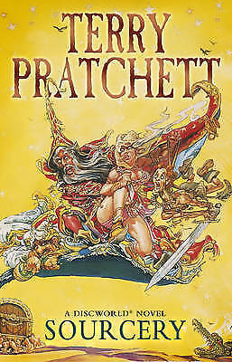 Sourcery: (Discworld Novel 5) by Terry Pratchett (Paperback, 1989)