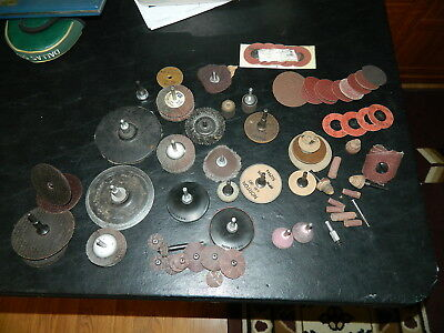 Deburring Items Large Lot Of Misc. Deburring Items    Used And New
