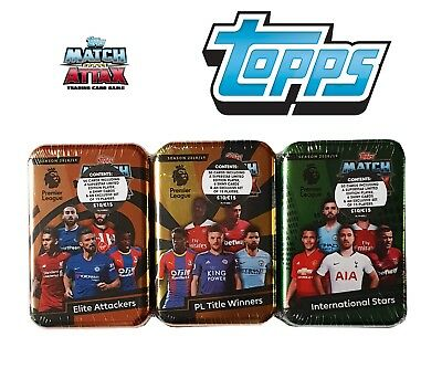 Topps Match Attax Premier League Trading Cards Mini Tin 2018/2019 New & Sealed