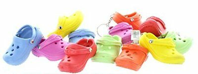 Rubber Clog Keychains One Pack of 12 Shoe Key Chain Gift for Men's