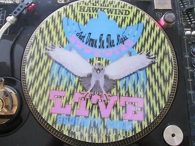 "Hawkwind - Shot Down In The Night (Live) Rare 12"" Picture Disc Single LP"