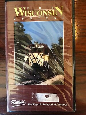 The Wisconsin Central - Railroad VHS