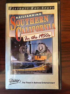 Railfanning Southern California in the 1950's - Railroad VHS