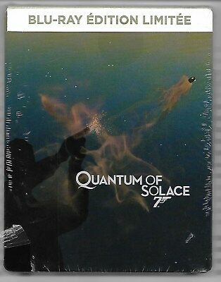 QUANTUM OF SOLACE - 007 / Blu-Ray Steelbook Neuf sous blister - VF
