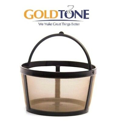 GoldTone 4 Cup Reusable Basket Coffee Filter fits Mr. Coffee