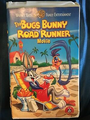the bugs bunny road runner movie vhs large case animated 39 99