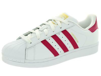 SCARPE ADIDAS originals SUPERSTAR FOUNDATION J B23644 BIANCO ROSA DONNA  ORIGINAL 52c8a2d5359