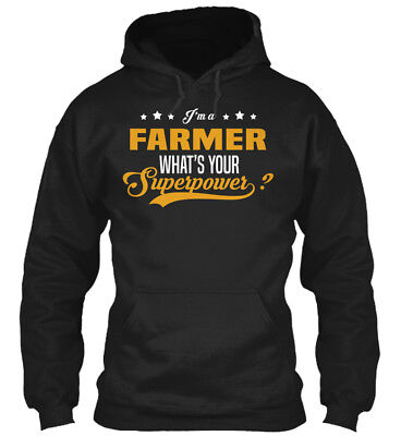 Off-the-rack Farmer - I'm A What's Your Superpower? Gildan Hoodie Sweatshirt