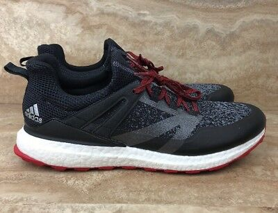 the best attitude 04e77 a7223 Adidas Crossknit Boost Golf Men s Shoes Black Ónix Scarlet