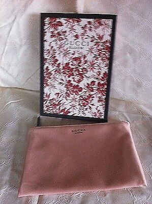 418451a3b94 1000% Genuine Gucci Bloom Cosmetic Bag  Makeup Pouch  Clutch blush pink