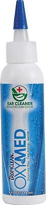 Tropiclean Oxy-med Ear Cleaner, 4 oz made in the USA dogs or cats