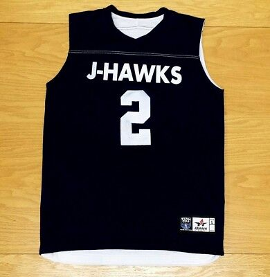 f82860034 J-HAWKS Alleson Athletic Reversible Blue / White Basketball Jersey L Youth  Large