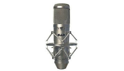CAD Audio GXL3000 Large Diaphragm Condenser Microphone with Shock Mount & Bag