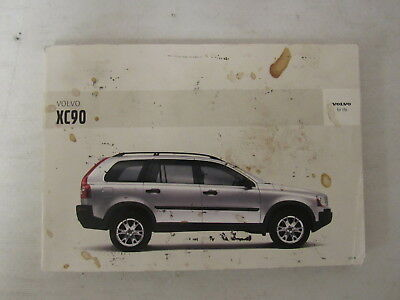 2005 volvo xc90 owners manual book 22 59 picclick rh picclick com 2005 volvo xc90 manual pdf 2005 Volvo XC90 Interior