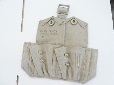 British UK WW2 Model Lee Enfield Ammo Pouches 37 Pattern Cartridge Carrier