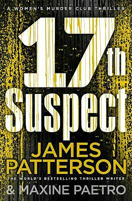 17th Suspect: (Women's Murder Club 17) by James Patterson Paperback Book Free Sh