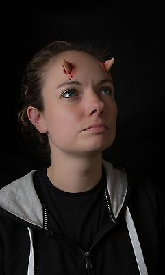 Demon Horns Prosthetic Non-Latex