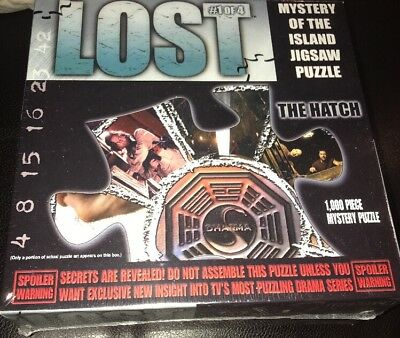 New THE HATCH - LOST JIGSAW PUZZLE - #1 of 4 - ABC TV 2006 Mystery of the Island