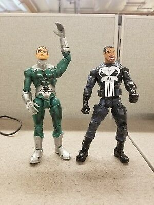 "Marvel Legends 6"" figure Urban Legends Punisher and doc ock loose"
