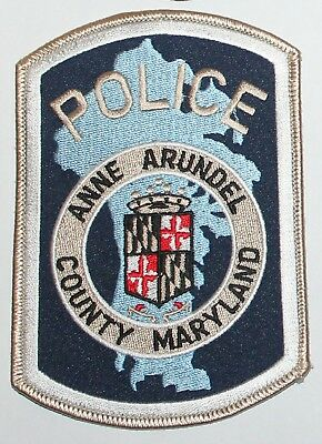 ANNE ARUNDEL COUNTY POLICE Maryland MD Co PD patch