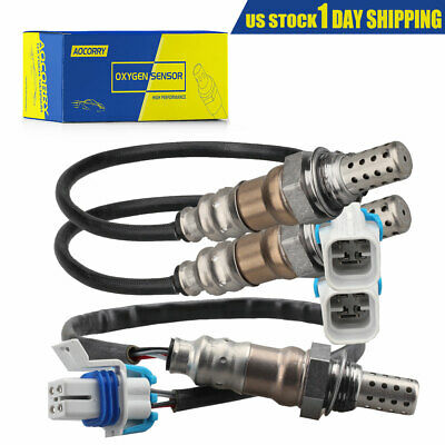 4pcs Upstream/&Downstream 02 O2 Oxygen Sensor for 96-99 Cadillac DeVille 4.6L V8