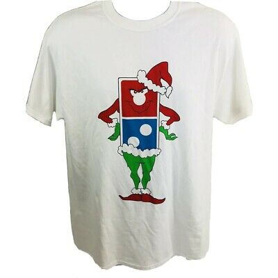 e7cd4965 Dominos Pizza How The Grinch Stole Christmas Novelty T-Shirt Adult Size M