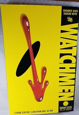 Watchmen by Alan Moore and Dave Gibbons 1995, Paperback,