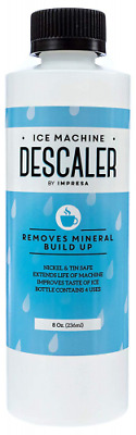 Impresa Products Ice Machine Cleaner/Descaler - 4 Uses Per Bottle - Made in USA