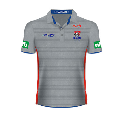 Newcastle Knights 2016 Nrl Mens Players Polo Isc