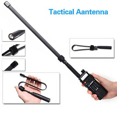 SMA-F Dual Band Ham Car Radio Antenna VHF//UHF 144//430MHz for Kenwood UV-5 V1M8