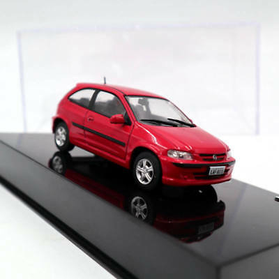 IXO Altaya 1:43 Chevrolet Celta 1.0 2000 Diecast Models Toys Car Collection Red