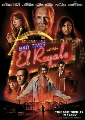 Bad Times At The El Royale : NEW DVD : Australian Stock : *PRICE SMASHED*