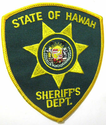 State of Hawaii Sheriff's Department Police Patch