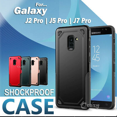 Shockproof Heavy Duty Tough Case Cover For Samsung Galaxy J2 Pro 2018 J5 J7 Pro