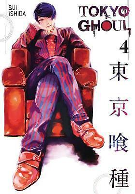 Tokyo Ghoul, Volume 4 by Sui Ishida (English) Paperback Book Free Shipping!