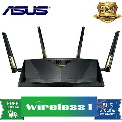 Asus RT-AX88U AX6000 Dual Band 802.11ax WiFi Router
