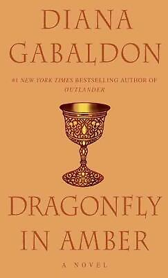 Dragonfly in Amber by Diana Gabaldon (English) Mass Market Paperback Book Free S