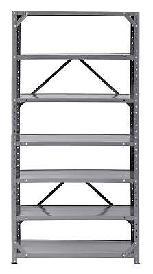 Edsal Muscle Rack HC30127-17 Steel 7-Shelf Shelving Unit